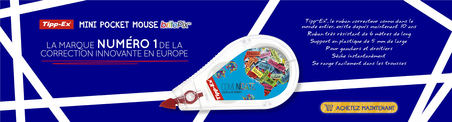 TippEx Mini Pocket Mouse britePix