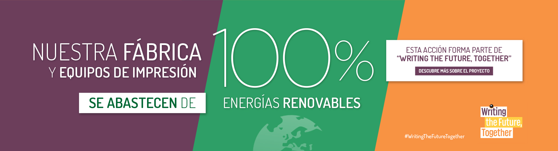 100% RENEWABLE ELECTRICITY