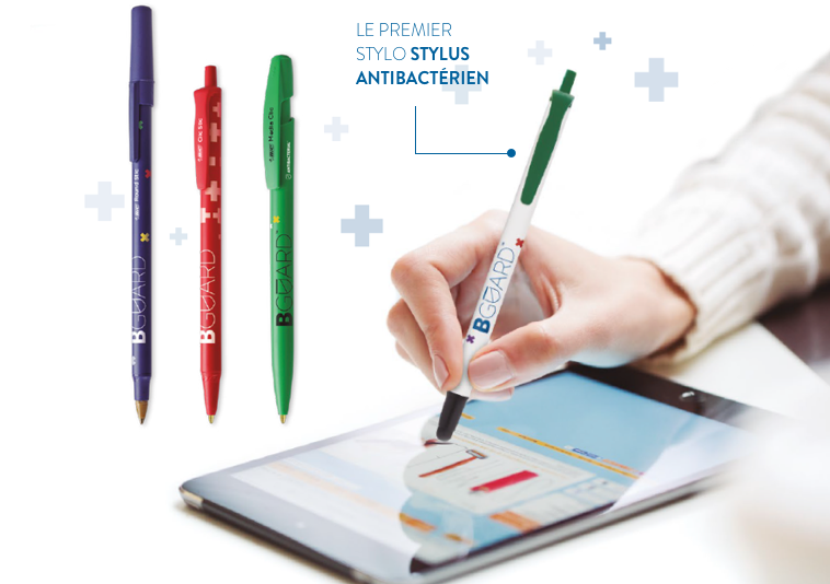 First antibacterial stylus pen